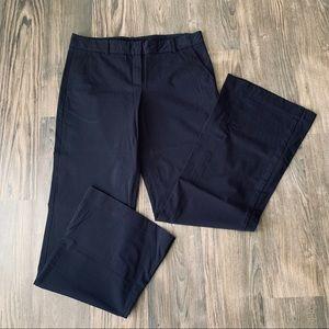 Theory Navy Wide Leg Trouser Slacks / Pants